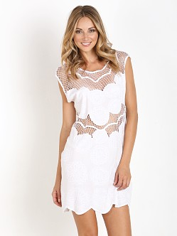 Cleobella Echo Dress White