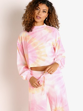 Beach Riot Ava Sweater Sunrise Tie Dye