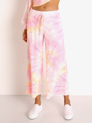 Model in sunrise tie dye Beach Riot Hailey Pant