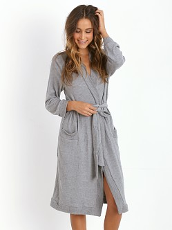 Eberjey Cozy Time Robe Heather Grey
