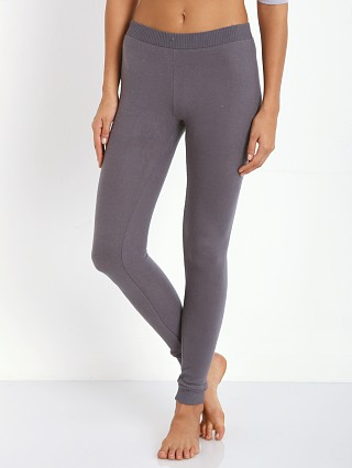 Eberjey Cozy Time Legging Gunmetal