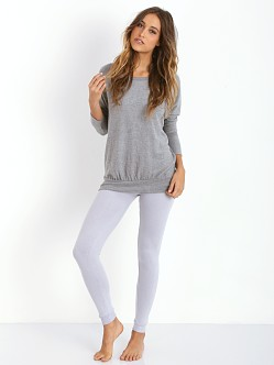 Eberjey Cozy Time Legging Slate