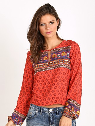 MinkPink Boho Queen Top Multi