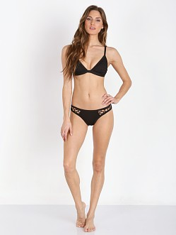 Seafolly Mesh About Fixed Tri Black