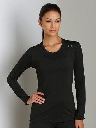 Under Armour HeatGear Sonic Long Sleeve Black