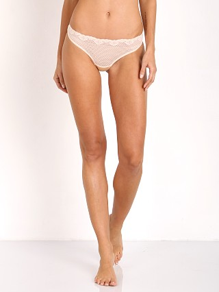 Timpa Duet Lace Low Rise Thong Nude