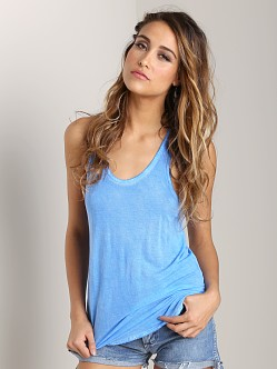 291 Venice Side Slit Racerback Tank Lake