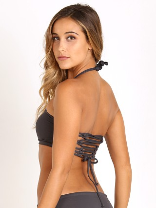 Maaji Graphite Ferries Bandeau Top