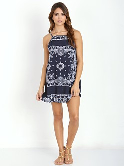Faithfull the Brand Royals Dress Bandit Print