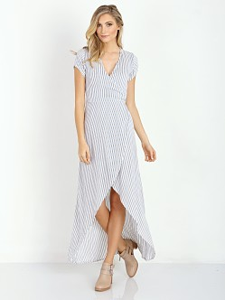 Faithfull the Brand Lulu Maxi Dress Yacht Stripe