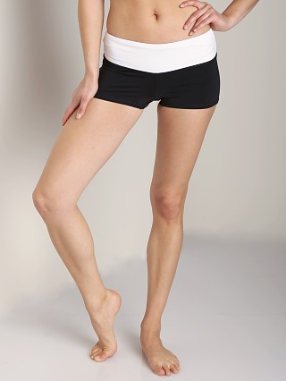 Solow Eclon Shorty Short Black/White
