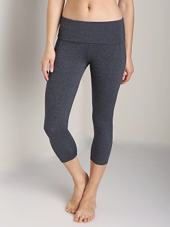 Solow Eclon Foldover Legging Charcoal