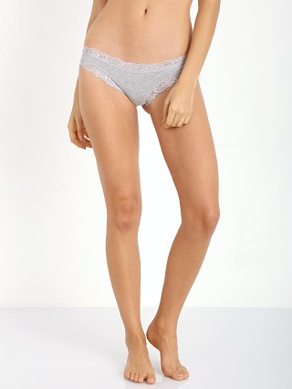 Fleur't Top Drawers Thong Heather Grey