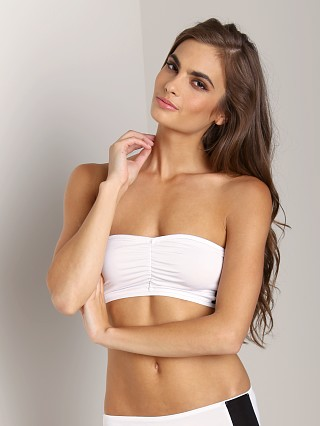 Complete the look: Fleur't Second Drawer Side Panel Bandeau White/Black