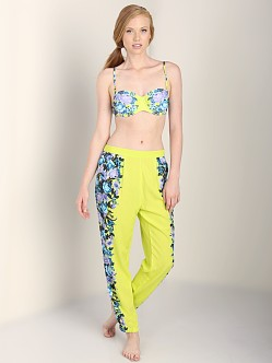 Seafolly Spritzer Pant Chartreuse