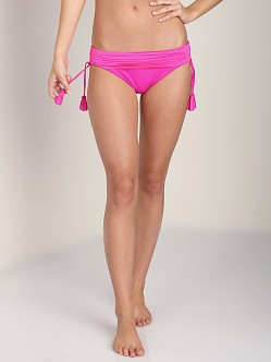 Seafolly Goddess Banded Hipster Neon Pink