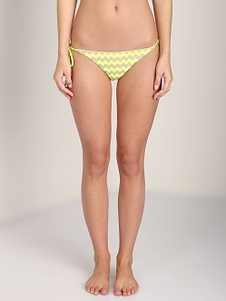 Seafolly Mod Club Brazilian Fluoro Yellow