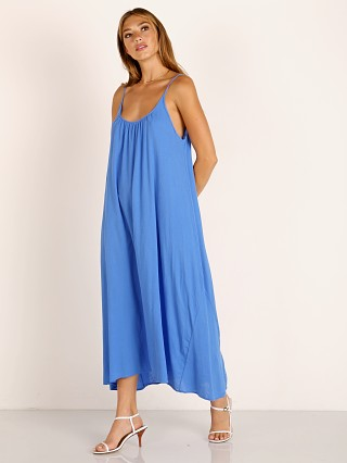 9seed Tulum Maxi Dress Moroccan Blue