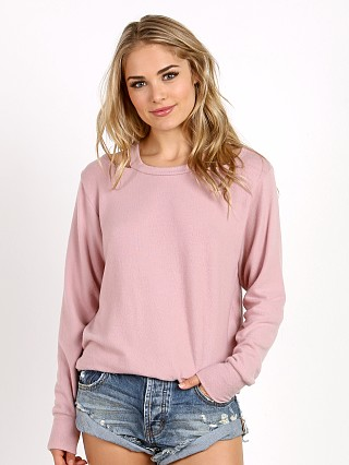 LNA Clothing Bolero Sweater Crystal Rose