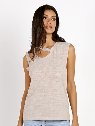 LNA Clothing Double Cut Tank Oat
