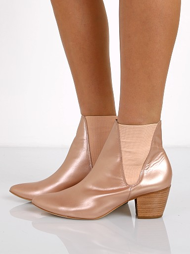 Matisse x Amuse Society Sass Bootie Rosegold
