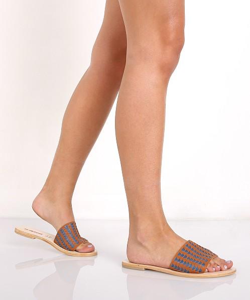SOL SANA Anna Geo Weave Sandal xCUNhZcIn