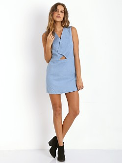 Finders Keepers Eye Spy Dress Chambray