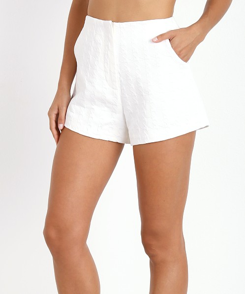 Finders Keepers Shake It Out Short White