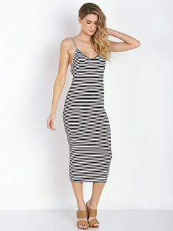 Amuse Society Prism Dress Black Sands Stripe
