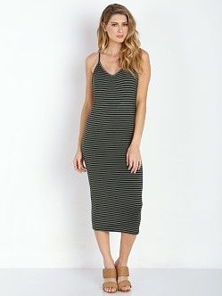 Amuse Society Prism Dress Faded Army Stripe
