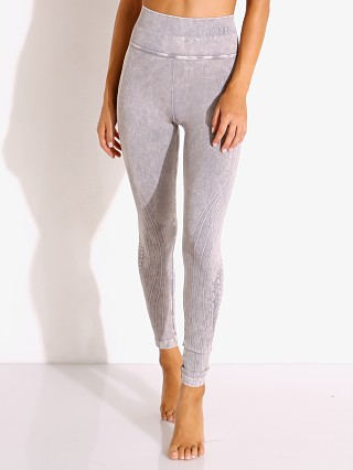 Model in stone wash NUX High Rise Mesa Legging Mineral Wash