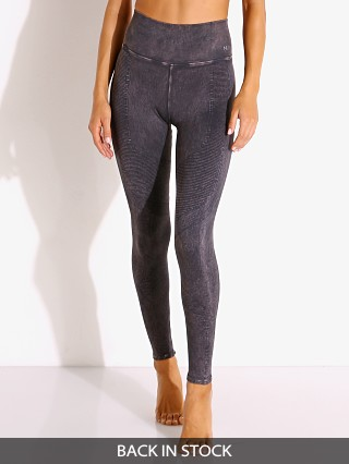 Model in black wash NUX One By One Legging Mineral Wash