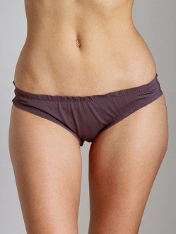 Eberjey So Solid Sandy Bikini Bottom Raisin