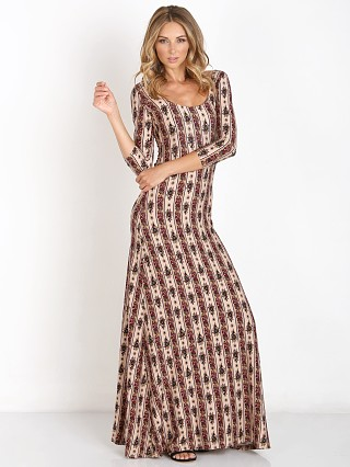 Novella Royale Lee Dress Rust Hudson Stripe