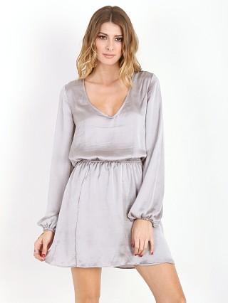 Show Me Your Mumu Rainey Mini Dress Silver Dollar