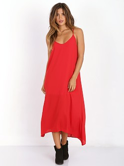 Show Me Your Mumu Taryn Strap Dress Hollyday Red Crisp