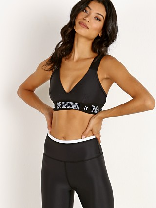 PE NATION Motion Strike Sports Bra Black