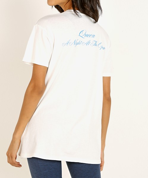 Daydreamer Queen Anato Crest Weekend Tee Vintage White