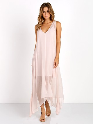 LACAUSA Firefly Dress Peony