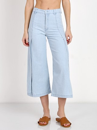 LACAUSA Flora Pant Light Wash Denim