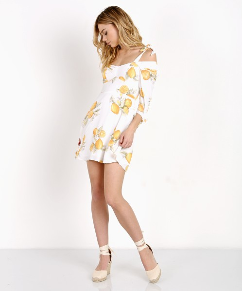 3705f083ebee For Love   Lemons Limonada Mini Dress Lemon CD1523C-SP17 - Free Shipping at  Largo Drive