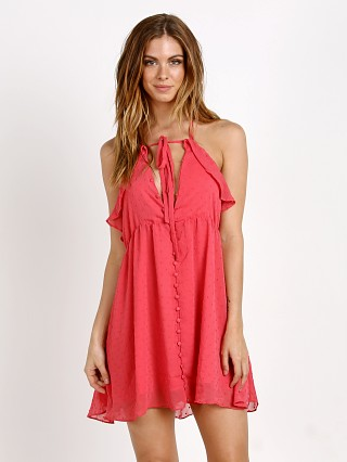 For Love & Lemons Tarta Tank Dress Flamingo