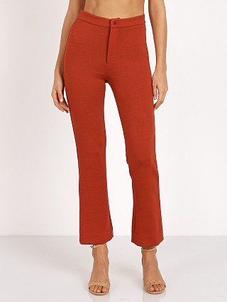 Complete the look: Novella Royale The Abby Pant Burnt Rust