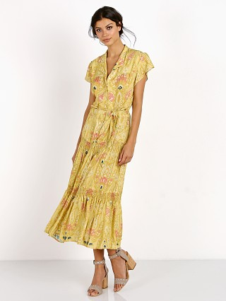 Novella Royale The Dorothea Dress Mustard Marigold