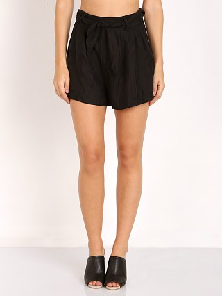 Line & Dot Beaux Tie Short Black