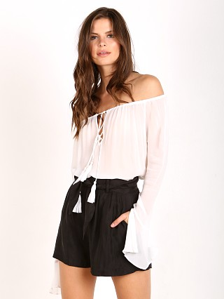 You may also like: Line & Dot Amelie Peasant Blouse White