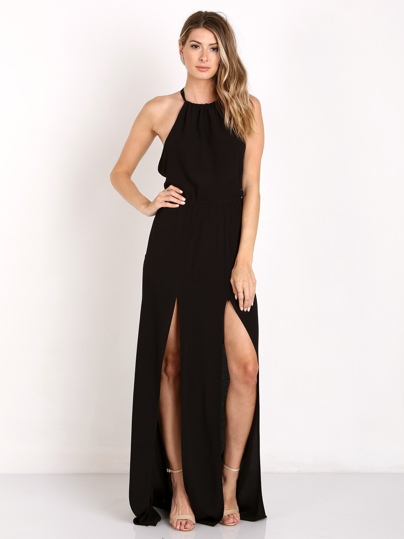 Stone Cold Fox Onyx Gown Black SCFBR107 - Free Shipping at Largo Drive