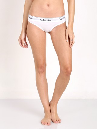 Calvin Klein Modern Cotton Thong White