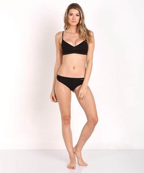 Calvin Klein Invisible Thong Black