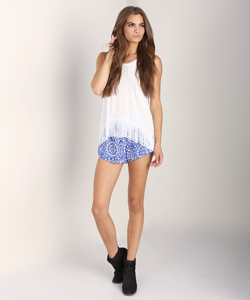 Show Me Your Mumu Djuna Top White